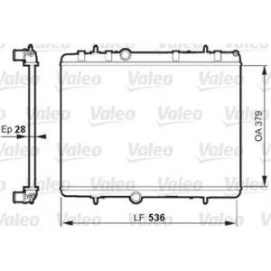 Valeo Radiateur de refroidissement référence 735608