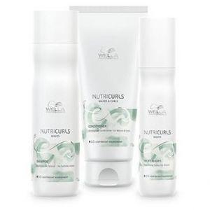 Wella Pack Nutricurls Cheveux Ondulés - Shampooing + Conditionneur + Spray