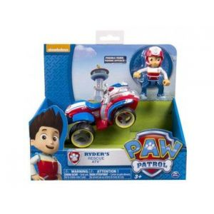 Spin Master Quad et Ryder - Figurine et véhicule Pat' Patrouille