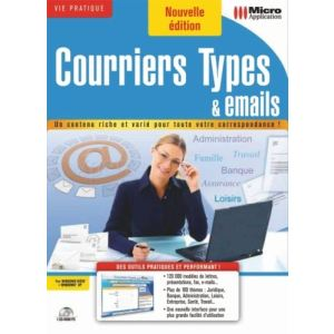 Courriers Types et Emails [Windows]