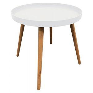 Table d'appoint ronde avec plateau The Concept Factory