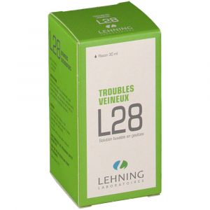 Lehning L28 Troubles Veineux - 30 ml SOLUTION GINGIVALE