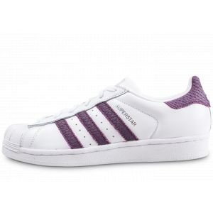 Adidas Superstar Blanc Et Violet Femme 36 Tennis