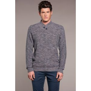 Deeluxe Pull PORTER - Couleur - Navy, Taille - XL