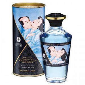 Shunga Erotic Art Huile Chauffante Aphrodisiaque Parfumée Noix de coco