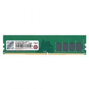 Image de Transcend Mémoire - 8 Go - DIMM 288 broches - 2400 MHz / PC4-19200 - mémoire sans tampon