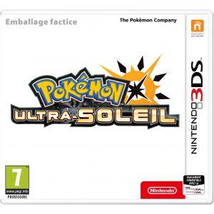 Jeu 3DS Pokémon Ultra Soleil sur 3DS