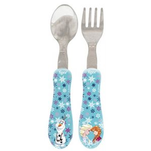 Image de Tigex Set 2 couverts inox La Reine des neiges
