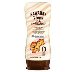 Hawaiian Tropic Sun Lotion Silk Hydration Spf 10 180 Ml