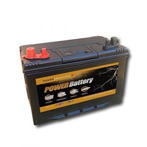 AGM Power battery Batterie décharge lente camping car bateau 12v 100ah 303x172x220mm