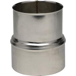 Ten 614640 - Réduction flexible pour tubage flexible Inox F-M diamètre 146-140