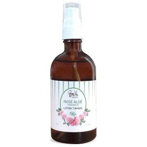 Oemine Belle lotion tonique Rose-Aloe-Hamalis certifiée Bio