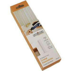 Steinel Bâtons de colle 006594 thermofusible Cristal Ø 7 mm transparent 150 mm 40 pc(s)