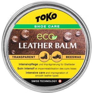 Toko Leatherbalm - Produit d´entretien chaussures taille 50 g, gris/ gelb