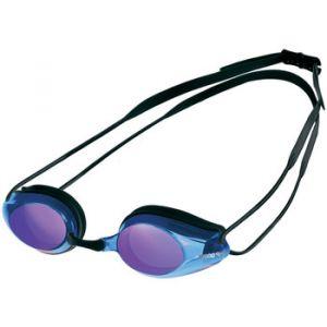 Arena Tracks Mirror Swimming Goggles - Black/Blue Multi/Black