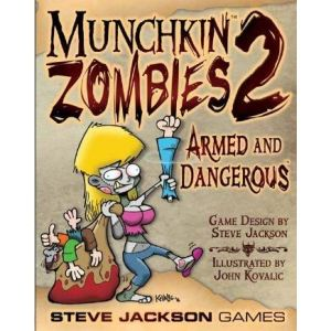 Steve Jackson Games Munchkin Zombies 2 : Armed and Dangerous
