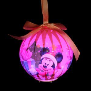 Boule de Noël lumineuse Disney Minnie
