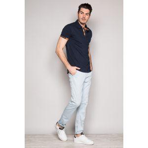 Deeluxe Chinots Pantalon bleu - Taille FR 38,FR 40,FR 42,FR 44,FR 46