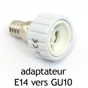 Vision-El Adaptateur culot E14 vers GU10 -