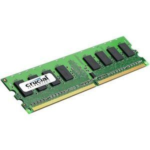 Crucial CT12872AA667 - Barrette mémoire 1 Go DDR2 667 MHz CL4 Dimm 240 broches