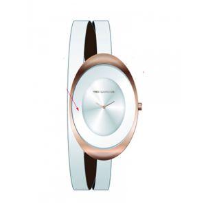 Ted Lapidus B0210PBNF - Montre pour femme avec bracelet en cuir