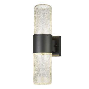 Globo Lighting EEK A+, Luminaire d'extérieur LED Nina Gloom I - Verre / Aluminium - 2