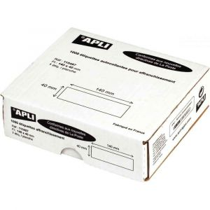 Avery-Zweckform 1000 Étiquettes simples d'affranchissement 140x40
