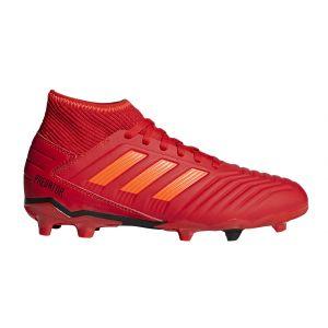 Adidas Chaussures de foot enfant Predator 19.3 Fg Chaussures De Football Sol Dur rouge - Taille 38,36 2/3