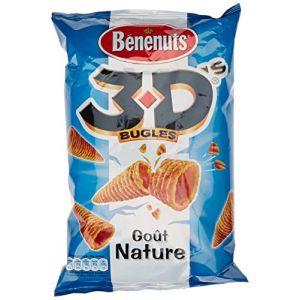 Benenuts Bugles 3D'S goût Nature 85 g