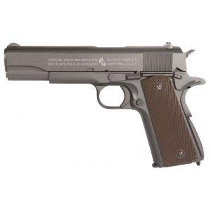 Cybergun Sa Pistolet Colt 1911 Anniversary Co2 Noir Full Metal 1,1 J Blowback - Occasion