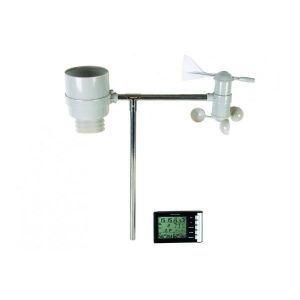 Velleman WS1060 - Station météo sans fil avec horloge DCF et capteur externe