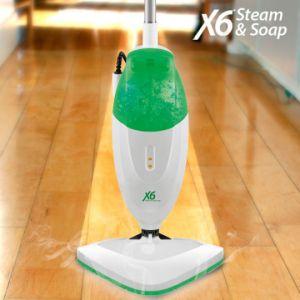 Steam & Soap X6 - Balai vapeur avec savon