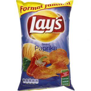 Lay's Chips paprika 220g - Le paquet de 220g