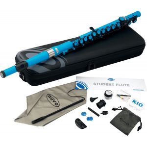 NuVo Instruments Student Flute (electric blue)