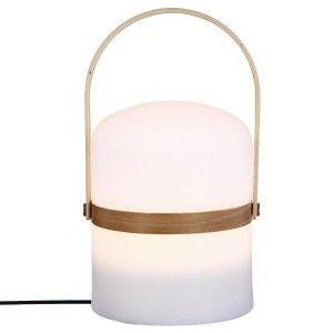 """Lampe Nomade avec Anse """"Baladeuse"""" 26cm Blanc Paris Prix"""""""