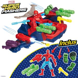Hasbro Marvel Super Hero Mashers : Spider-Man + Hulk