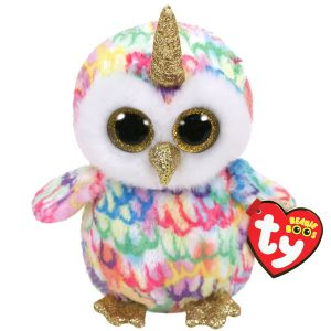 Ty 36253 - Beanie Boo's - Enchanted Le Hibou Licorne 15 cm