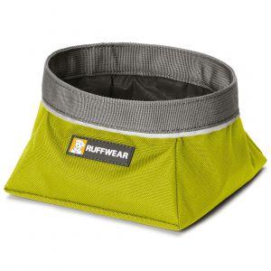 Ruffwear Gamelle de voyage pour chien Quencher vert - Sac 2,5 l