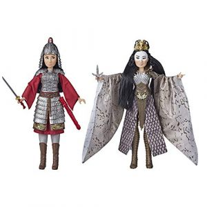 Hasbro Disney Princesses - Poupees Princesses Disney Mulan et Xianniang - 30 cm