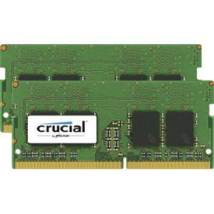 Crucial CT2K4G4SFS824A - Barrette mémoire SO-DIMM DDR4 8 Go (2 x 4 Go) 2400 MHz CL17 SR X8