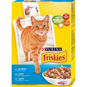 Friskies Saumon, légumes pour chat - 400 g