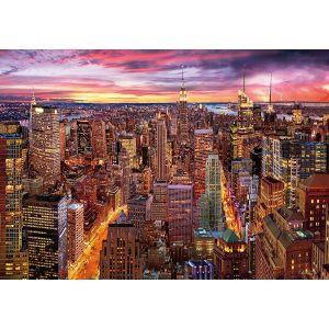 Wentworth Puzzle en Bois - Manhattan Skyline