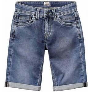 Pepe Jeans Tracker Short, Bleu (Light Used Denim Mk0), 8 ans (Taille fabricant:8) Garçon