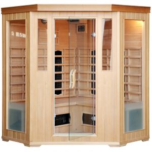 Concept-Usine Cabine Sauna Infra Rouge 3/4 Places Luxe Infrarouge