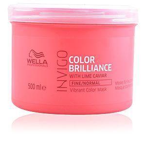 Wella Pro Masque cheveux fins à normaux Color brilliance Invigo 500ml