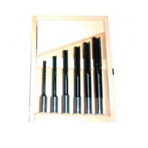 Holzprofi Coffret 6 mèches à mortaiser à droite WS D. 6 à 16 x Q 6 à 13 mm - 5051000