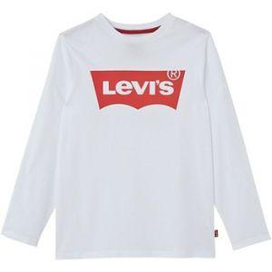 Levi's T-shirt enfant LS-TEE NOS N91005H blanc - Taille 3 ans,5 ans
