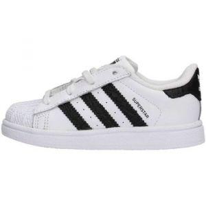 best website 50789 f4fdf Adidas Superstar, Sneakers Basses Mixte Bébé, Blanc (Footwear WhiteCore  Black