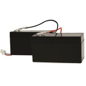 Scs sentinel Kit 2 batteries secours - 12/24 VOLTS 1,2AH - 12/24 VOLTS 1,2AH -