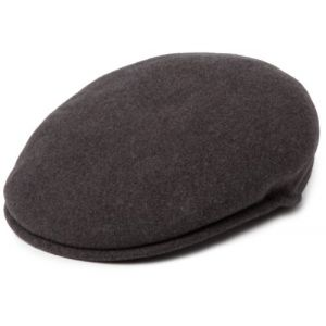 Kangol Wool 504 Casquette Souple, Gris (Dark Flannel), (Taille Fabricant: Small) Mixte